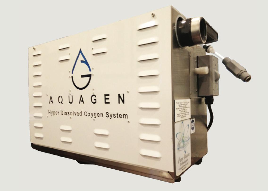 Aquagen, HDO, hyper dissolved oxygen, pool oxygen system