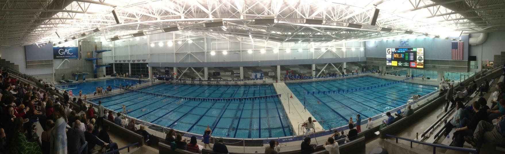 GAC, greensboro aquatic center, long course pool, olympic size pool
