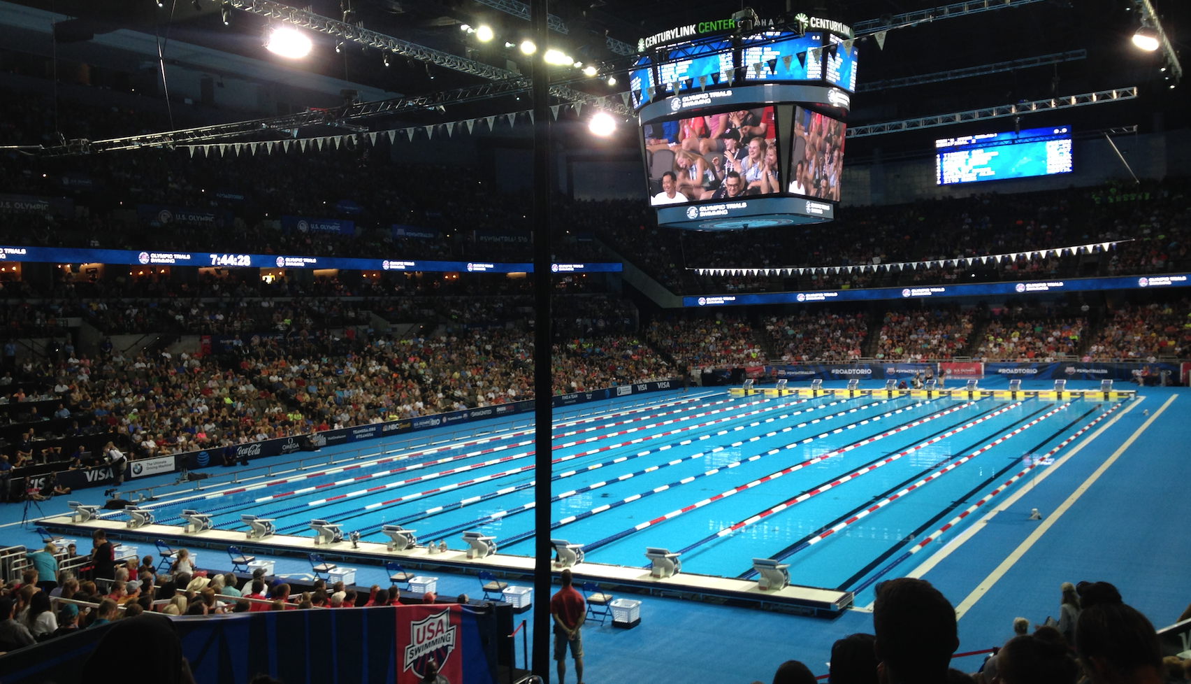 LCM, long course meters, long course pool, olympic size pool, olympic trials swimming