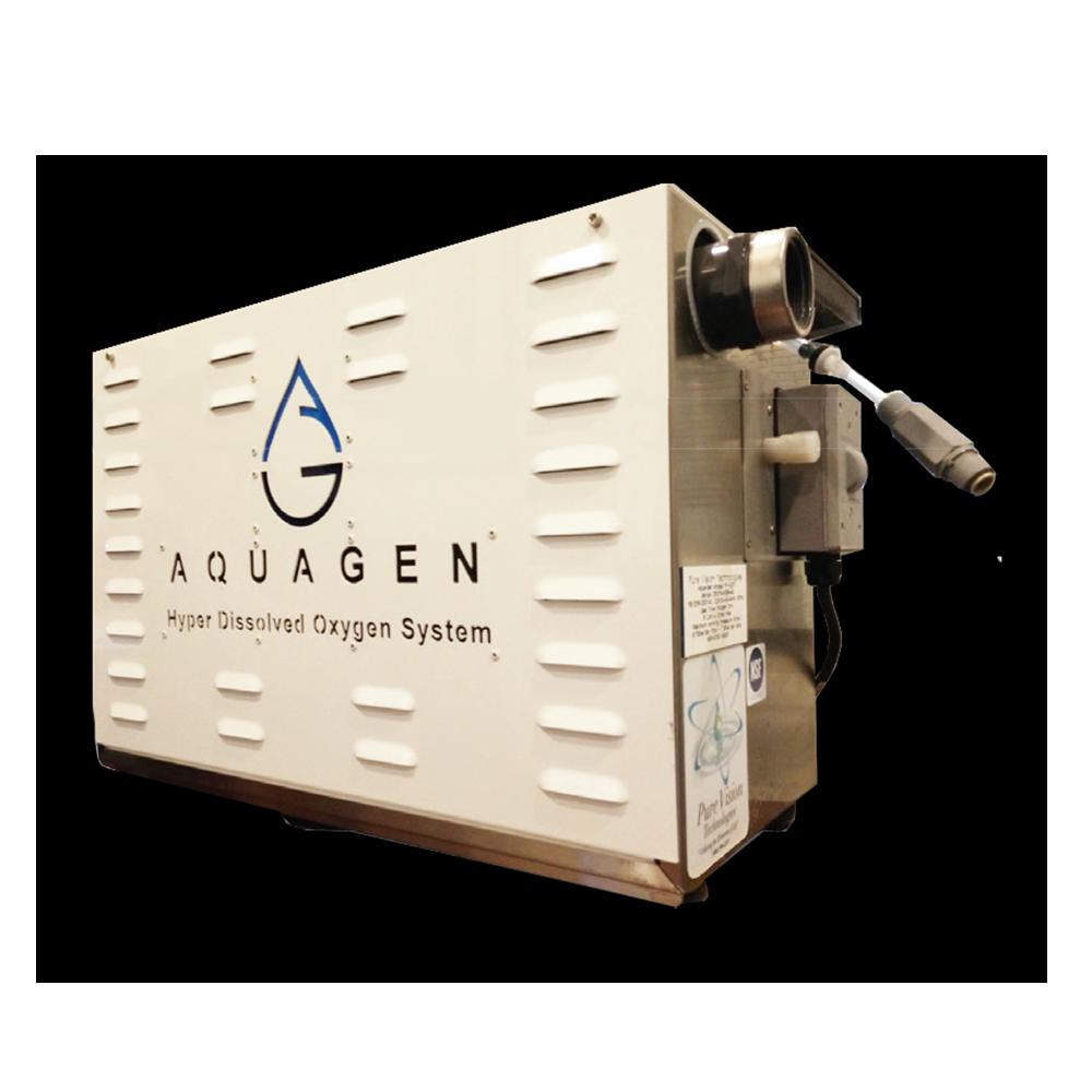 aquagen,  HDO, hyper dissolved oxygen, HDO pool, dissolved oxygen system for pool