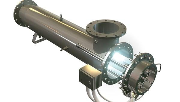 medium pressure UV system