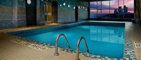 indoor hotel pool, Sheraton Niagara Falls, hotel natatorium
