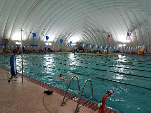 pool bubble enclosure, qostc, inflatable pool dome, pool dome air, chloramines in pool dome