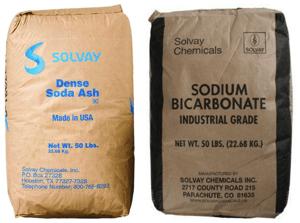 soda ash and sodium bicarb